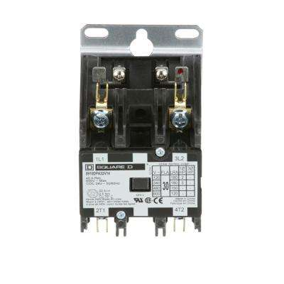 30 Amp 24-Volt AC 2 Pole Open Definite Purpose Contactor (20-Pack)