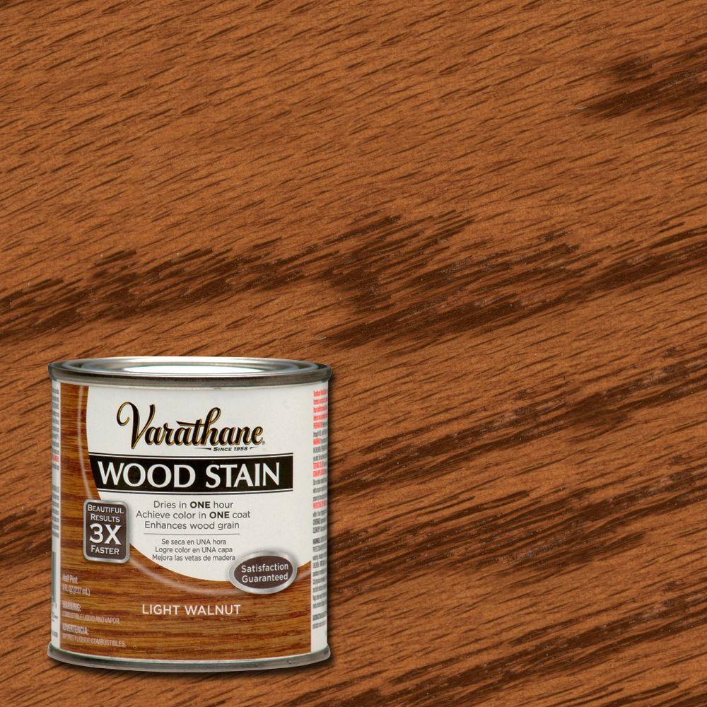 8 oz. 3X Light Walnut Premium Wood Interior Stain