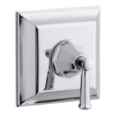Memoirs Stately 1-Handle Tub and Shower Faucet Trim Kit with Lever Handle in Polished Chrome (Valve Not Included)
