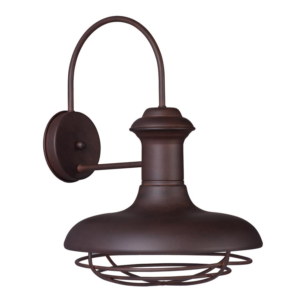 Maxim Lighting Wharf 1-Light Empire Bronze Outdoor Wall Lantern Sconce Maxim Lighting's commitment to both the residential lighting and the home building industries will assure you a product line focused on your lighting needs. With Maxim Lighting accessories you will find quality product that is well designed, well priced and readily available. Maxim has fixtures in a variety of styles and a strong presence in the energy-efficient lighting industry, Maxim Lighting is the clear choice for quality lighting.