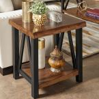 HomeSullivan Barnard Brown Live Edge End Table