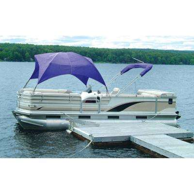 Pontoon Gazebo - Pacific Blue
