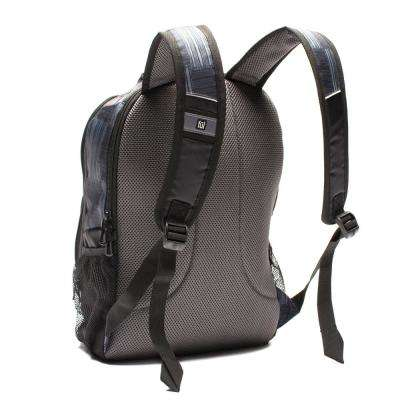 Dax Padded Black/Gray Laptop Backpack Fits Up to 15 in. Laptops