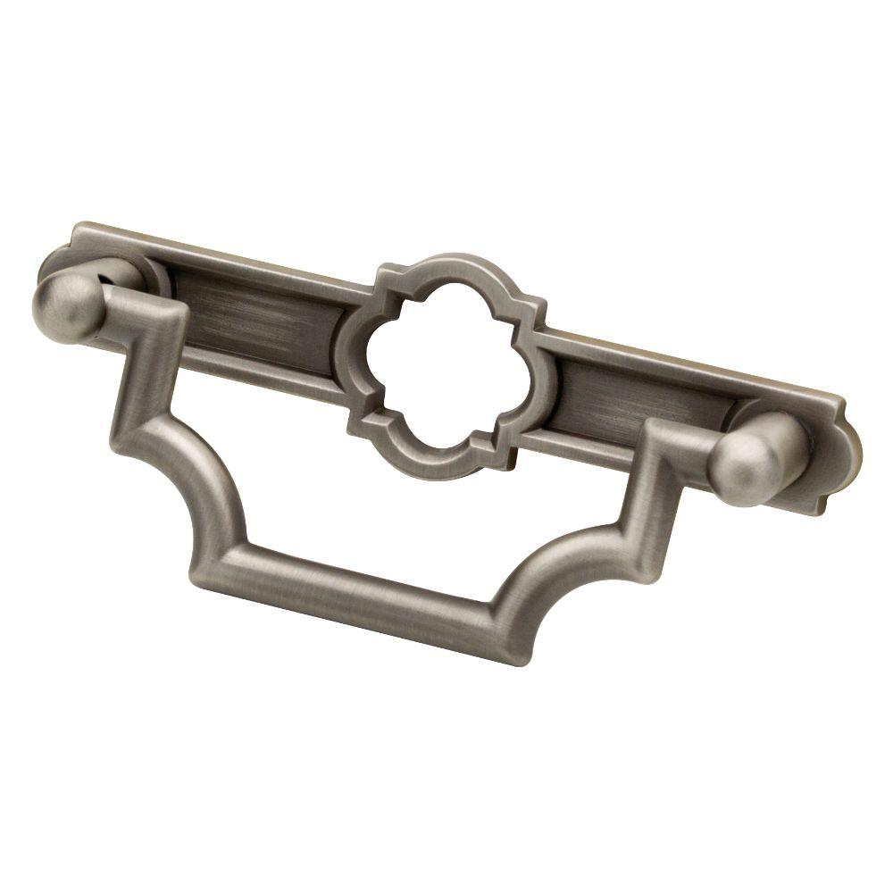 Liberty Emblem 3 in. (76mm) Heirloom Silver Bail Drawer Pull-P27984C ...