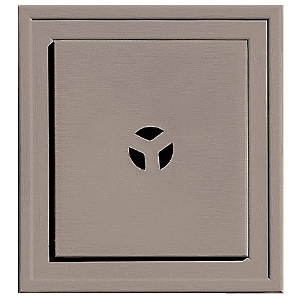7.75 in. x 7.75 in. #008 Clay Slim Line Mounting Block