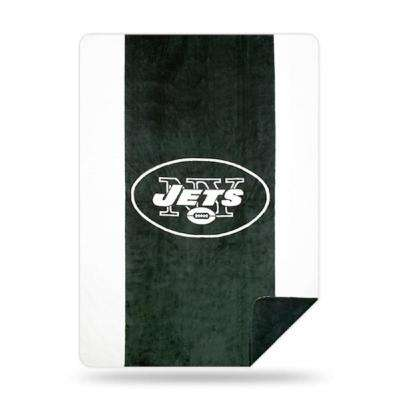 Jets Multi Color Acrylic Sliver Knit Throw