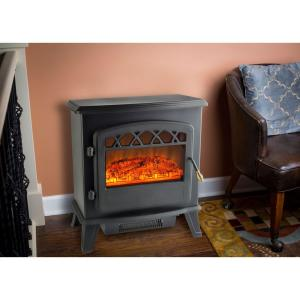 Ottawa 20 in. Retro-Style Floor-Standing Electric Fireplace