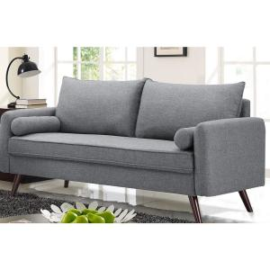 Phenomenal Callie Grey Mid Century Modern 3 Seater Sofa Onthecornerstone Fun Painted Chair Ideas Images Onthecornerstoneorg