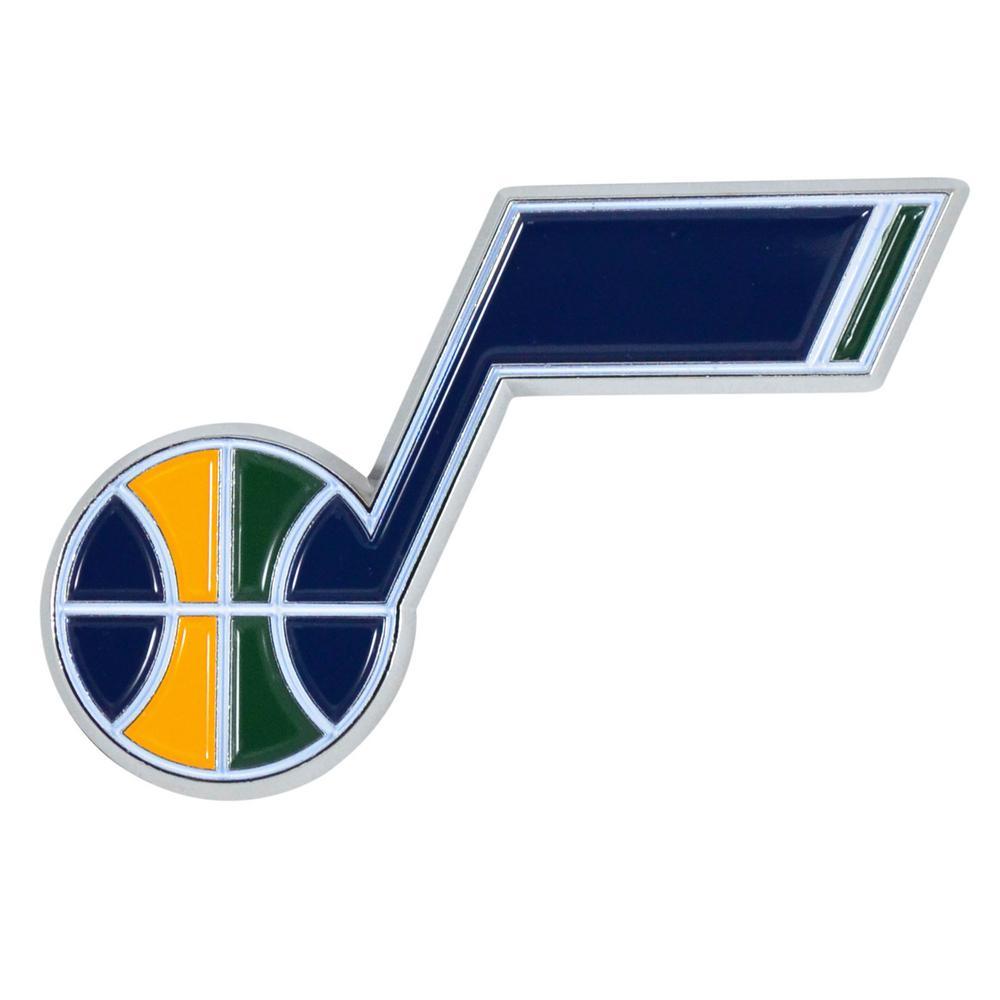 2 in. x 3.2 in. NBA Utah Jazz Color Emblem