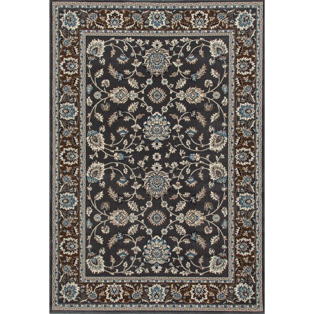 art carpet kensington jacobean border gray 10 ft 11 in x 15 ft area rug 841864105018 the. Black Bedroom Furniture Sets. Home Design Ideas