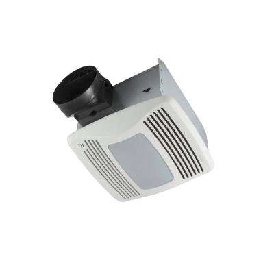 QTXEN Series Very Quiet 110 CFM Ceiling Humidity Sensing Fan with Light/Night Light, ENERGY STAR Qualified