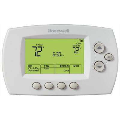 Wi-Fi 7 - Day Programmable Thermostat + Free App on