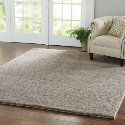 Ethereal Shag Taupe 7 ft. x 10 ft. Indoor Area Rug