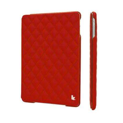 Quilted Smart Cover Case for iPad Air 2 - Red