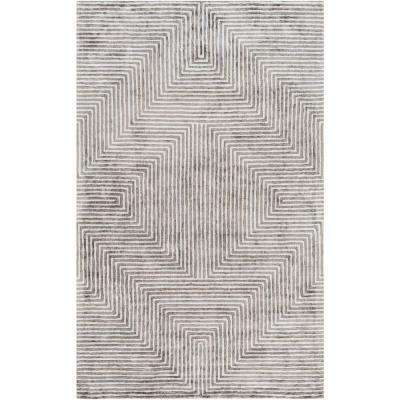 Kastav Light Gray 6 ft. x 9 ft. Indoor Area Rug