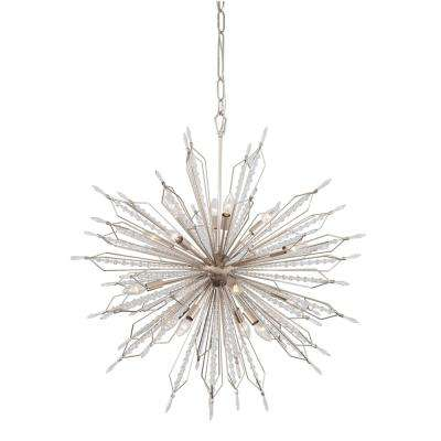 Orbital 16-Light Gold Dust Pendant
