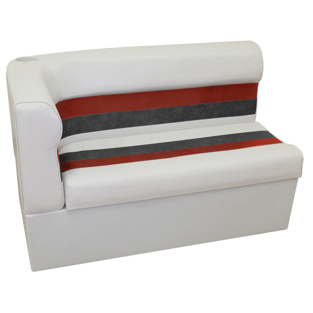 Wise Corner Lounge Seat Right Grey/Red/Charcoal