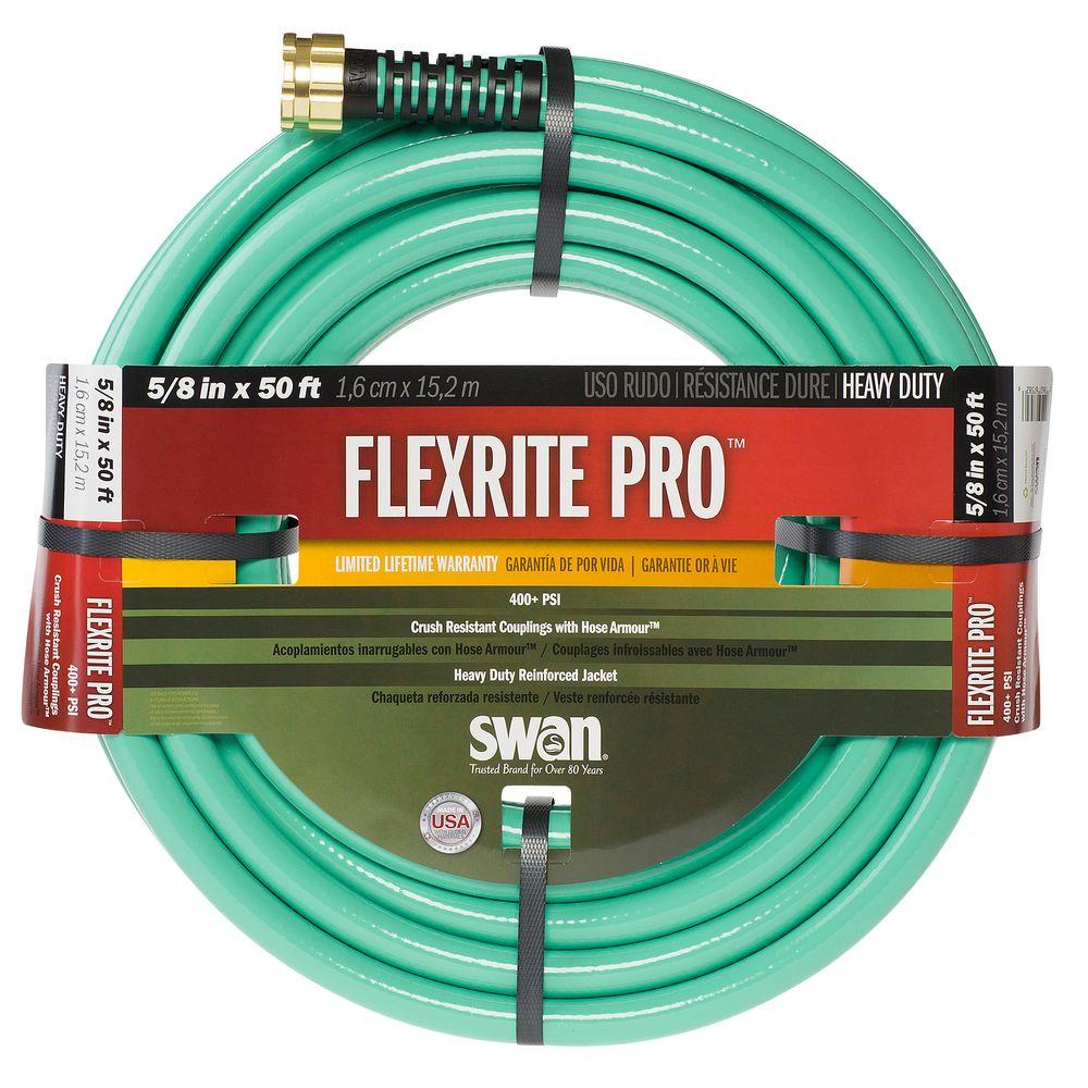 Awesome Swan FlexRITE Pro 5/8 In. Dia X 50 Ft. Heavy Duty Water