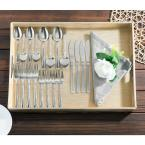 Home Basics Grand Collection Stainless Steel Flatware Set (20-Pack)