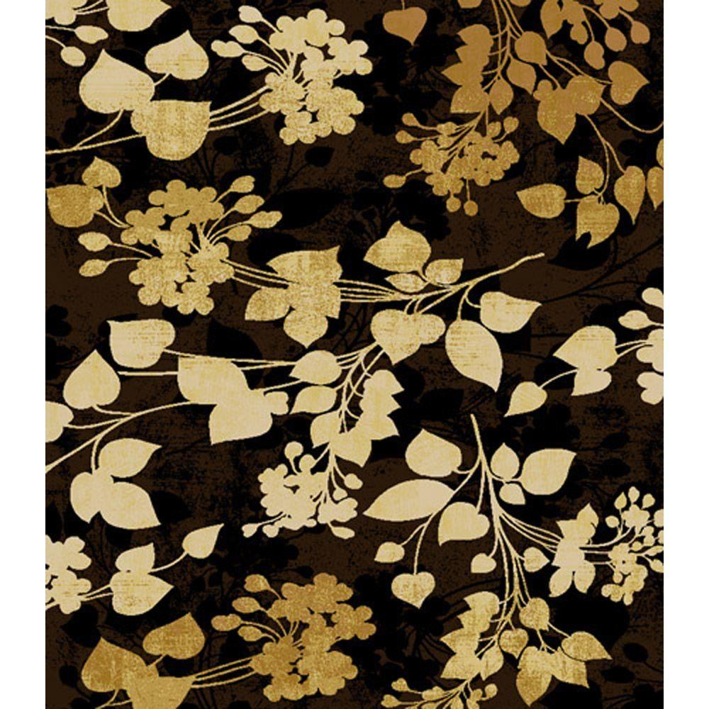 Home Dynamix Bazaar Emy Brown 5 ft. 2 in. x 7 ft. 2 in. Area Rug - DISCONTINUED