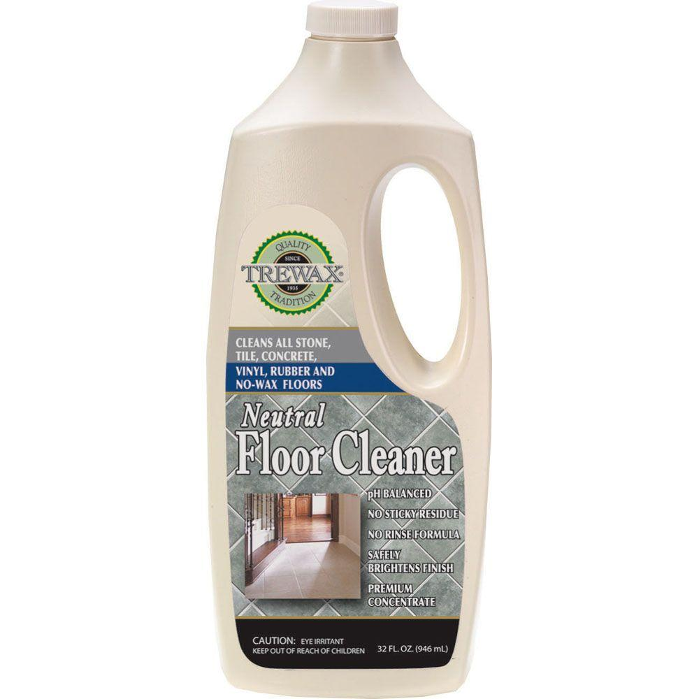 Trewax 32 Oz Neutral Floor Cleaner Concentrate 3 Pack