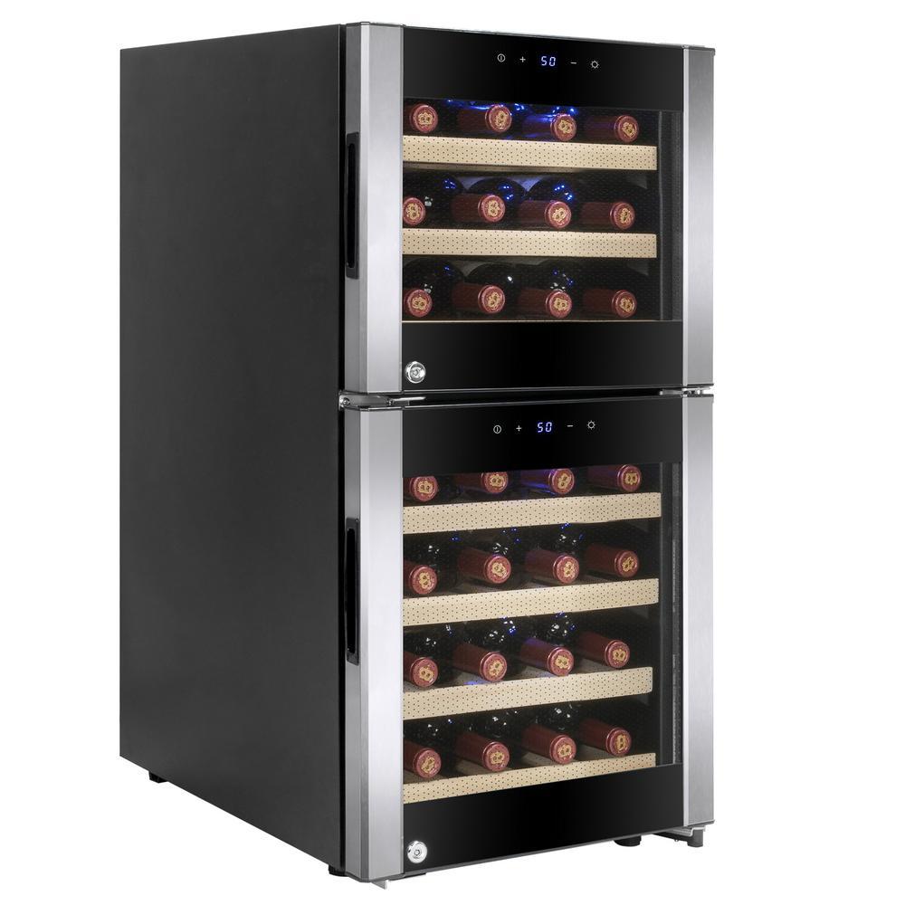 15.75 in. 33-Bottle Wine and 66-Can Compressor Beverage Cooler