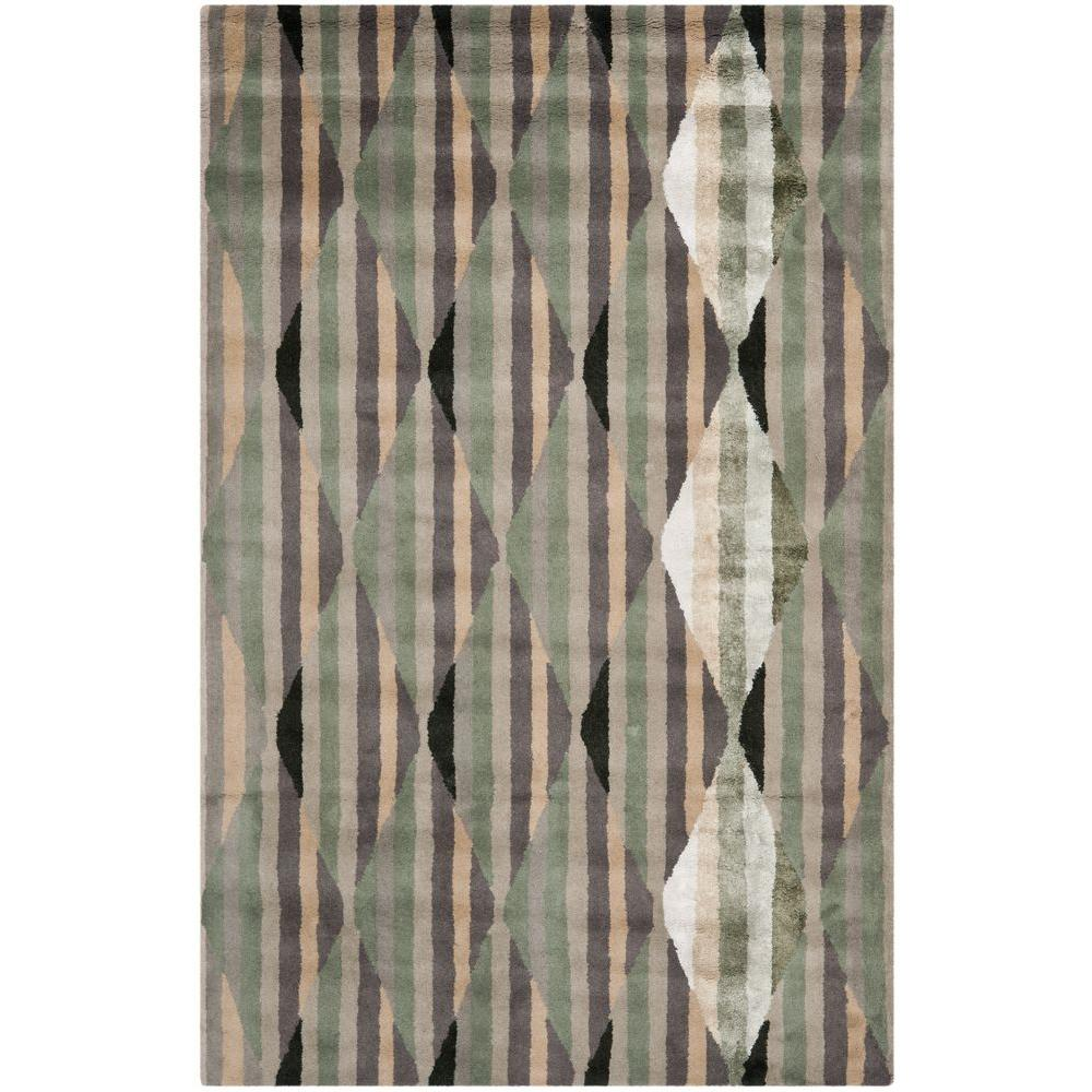 Chatham Grey/Multi 4 ft. x 6 ft. Area Rug