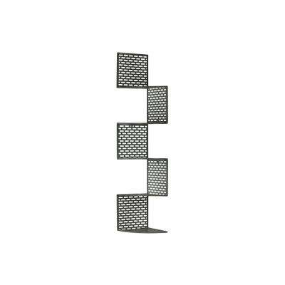10 in. x 49.25 in. 5 Metal Wall Shelf