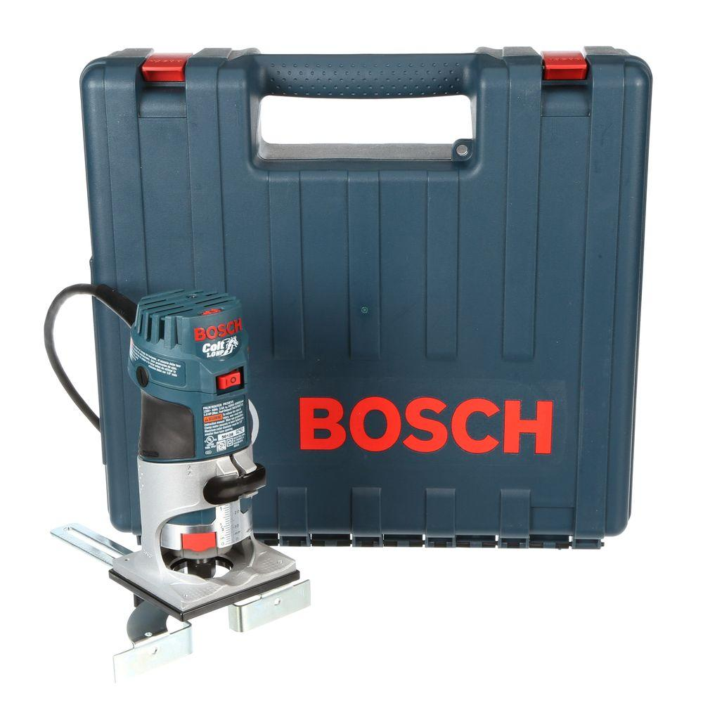 Bosch 56 amp 1 hp corded variable speed colt palm router for trim bosch 56 amp 1 hp corded variable speed colt palm router for trim railings greentooth Gallery