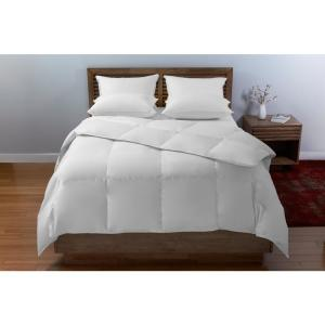 Beautyrest White Twin Cotton Arctic Fresh Down Comforter by Beautyrest