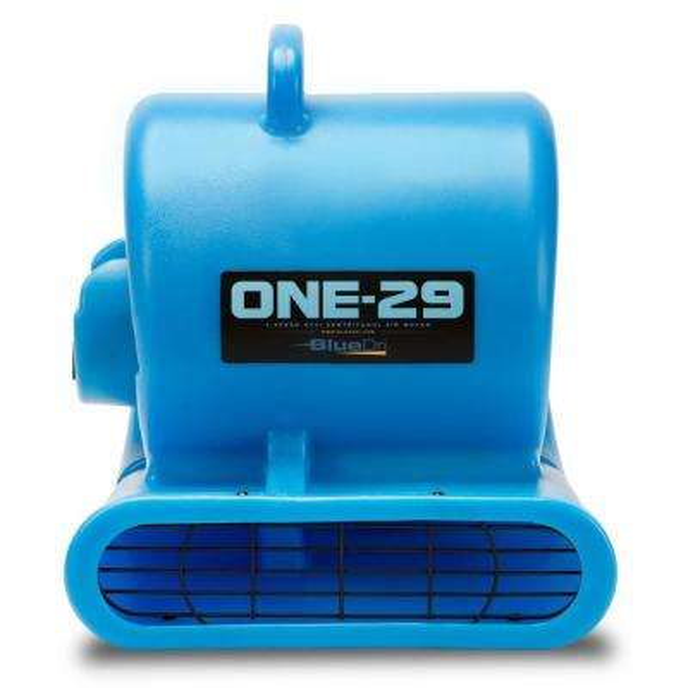 1/3 HP Air Mover Water Damage Restoration Carpet Dryer Janitorial Industrial Heavy-Duty Floor Blower Fan in Blue