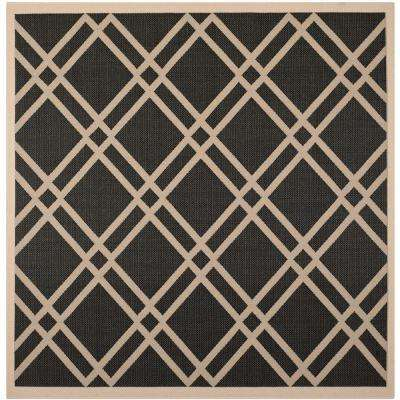 Square - Square 7\' and Larger - Black - Outdoor Rugs - Rugs - The ...