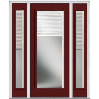 60 In. X 80 In. Internal Blinds Left Hand Inswing Full Lite Clear
