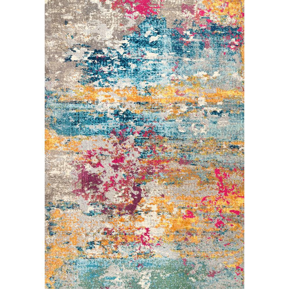 Nuloom Monet Modern Multi 8 Ft X 11 Ft Area Rug