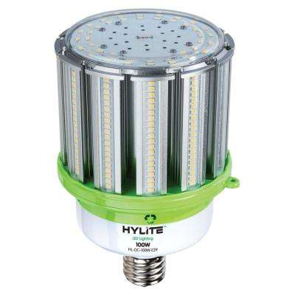 100W omni-cob LED Lamp 400W HID Equiv 5000K 14000 lumens Ballast Bypass 120-277V E39 Base IP 65 UL & DLC Listed