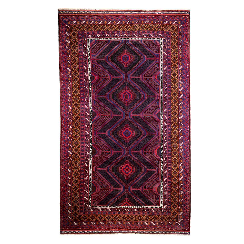 Darya Rugs Tribal Red 7 Ft 10 In X 12