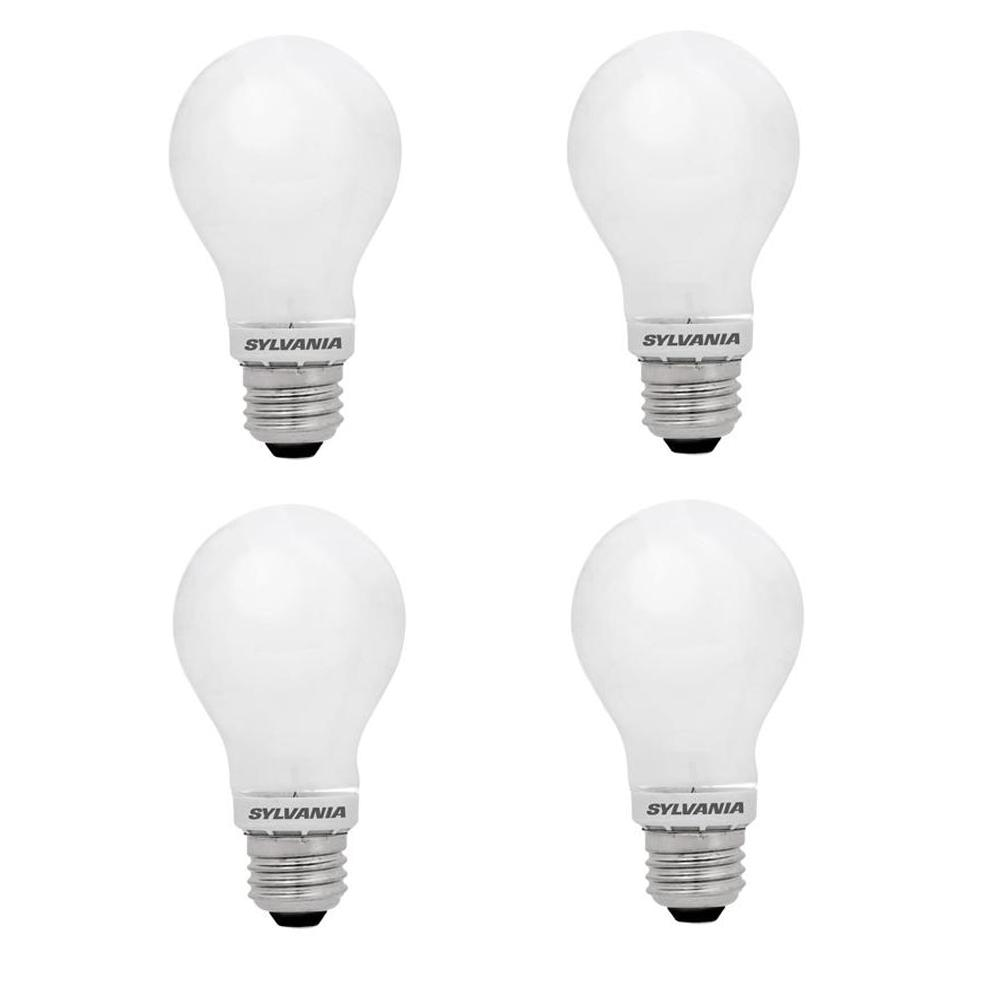 Sylvania 100 Watt Equivalent A21 Dimmable Energy Saving Household Led Light Bulb Daylight 4 Pack
