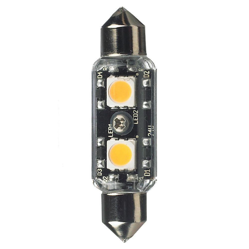 Ambiance 12-Volt LED Clear T3 Festoon Lamp (2700K)