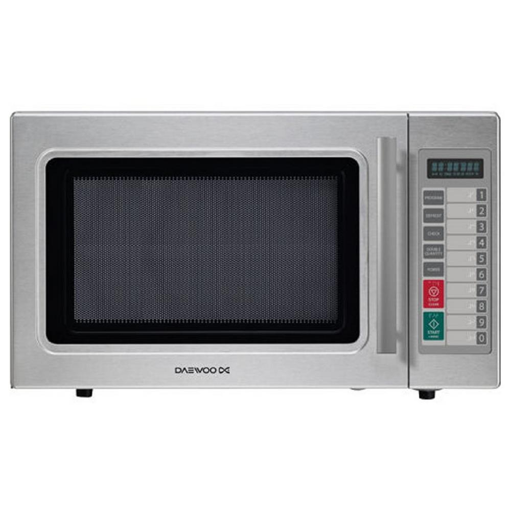 DAEWOO 1.0 cu. ft. Commercial Countertop Convection Cooking Microwave in Stainless Steel