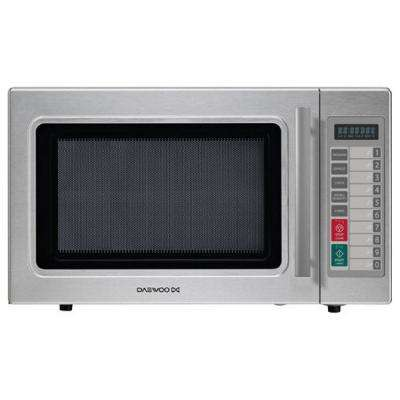 1.0 cu. ft. Commercial Countertop Convection Cooking Microwave in Stainless Steel