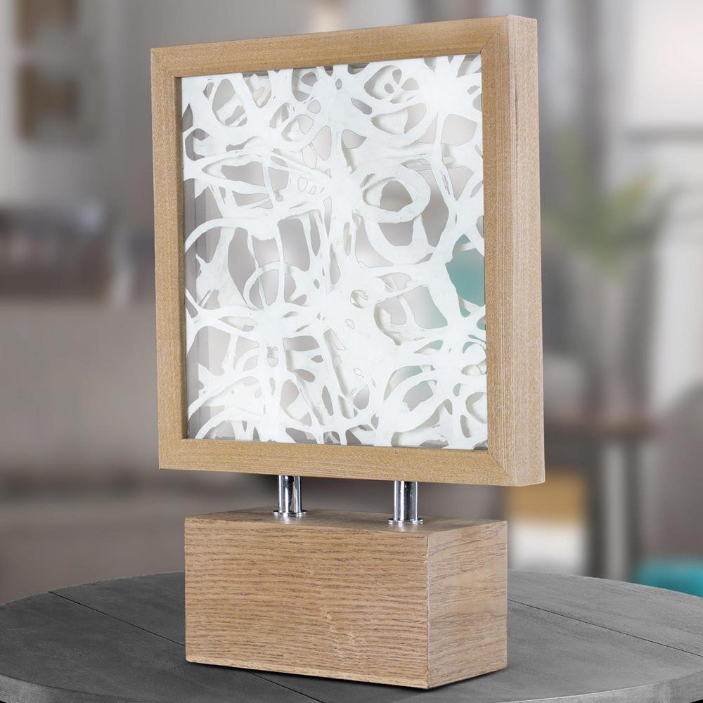 Charmant Crystal Art Gallery Abstract Dimensional Paper Art Table Top Decor