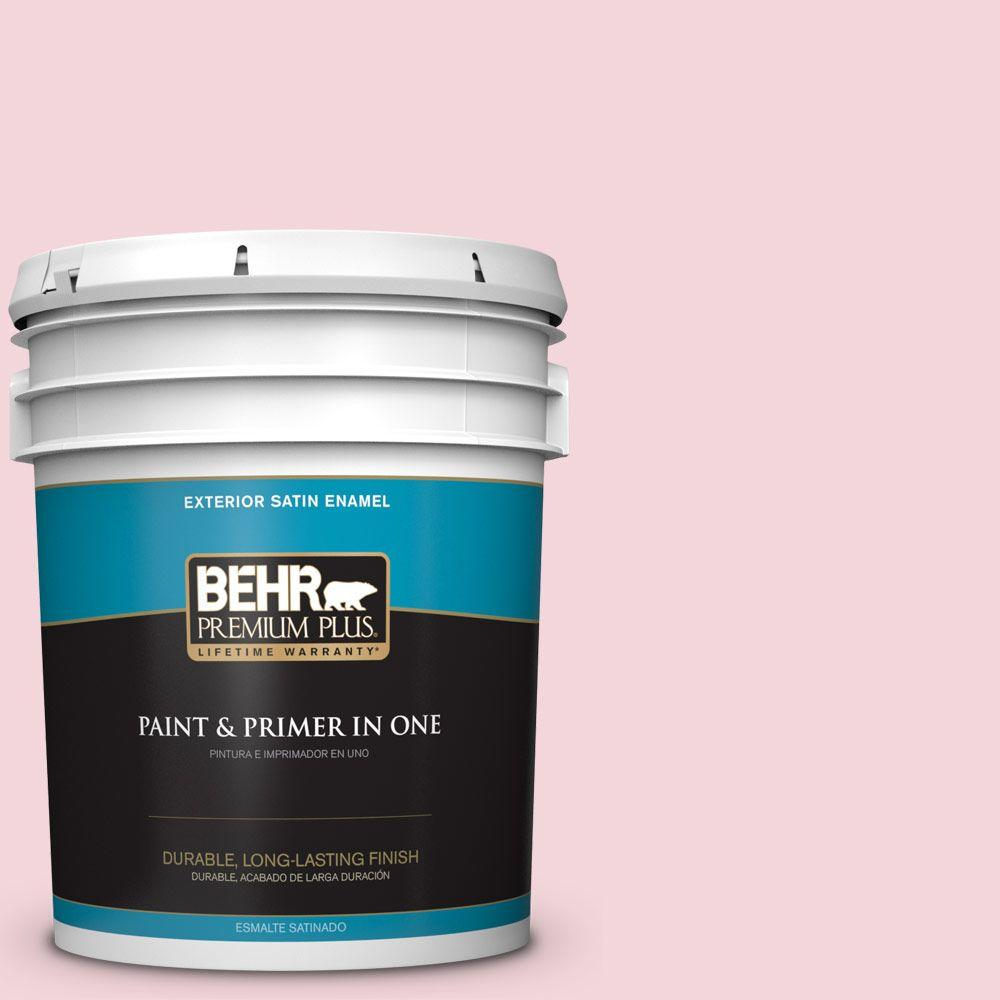 5-gal. #P140-1 Summer Crush Satin Enamel Exterior Paint