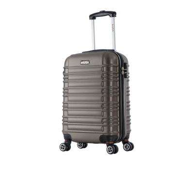 New York lightweight hardside spinner 20 in. carry-on -Brown