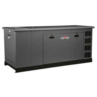 60000-Watt Automatic Liquid Cooled Standby Generator - Single Phase