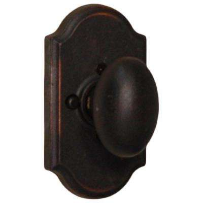 Molten Bronze Oil-Rubbed Bronze Premiere Privacy Bed/Bath Durham Door Knob
