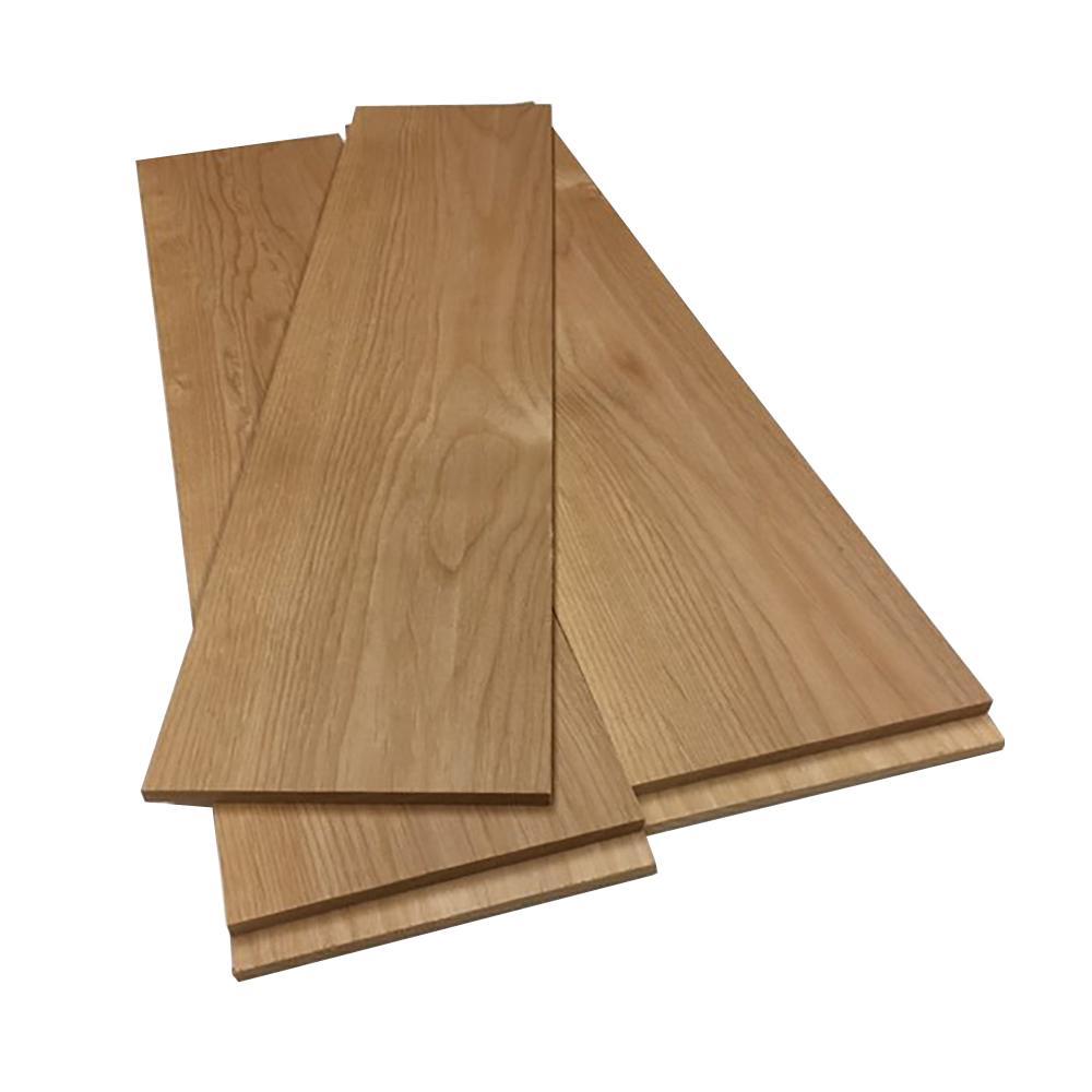 0.25 in. x 5.5 in. x 2 ft. Alder Hobby Board (5-Pack)