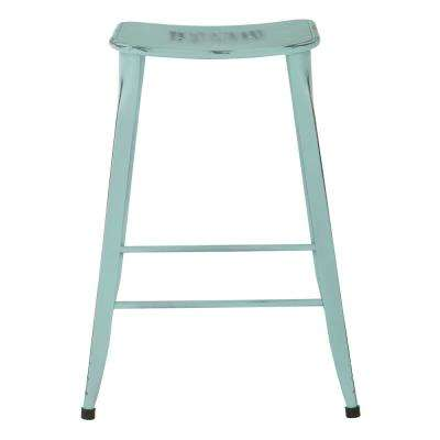 "Durham 26"" Counter Stool in Antique Sky Blue - 4 Pack"