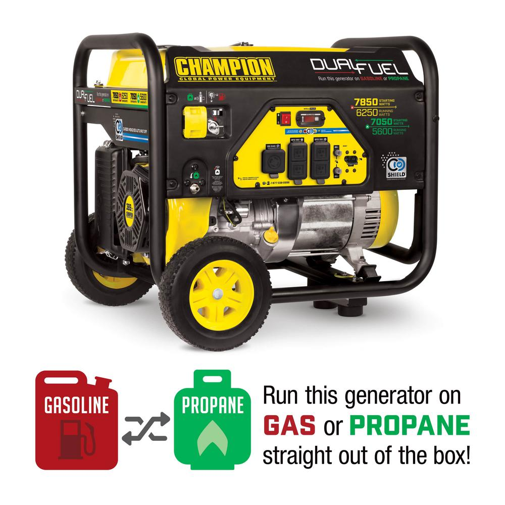 champion 7000 watt generator manual