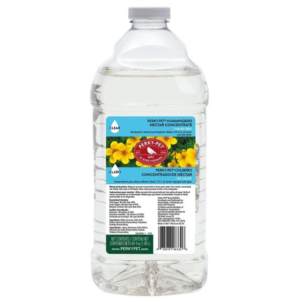 64 oz. Clear Hummingbird Nectar Concentrate