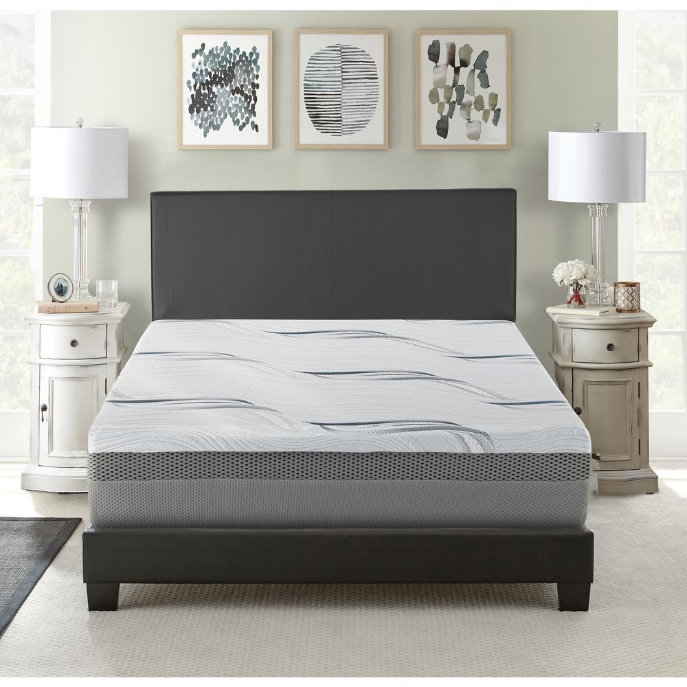 Queen Medium to Firm Gel Memory Foam Mattress